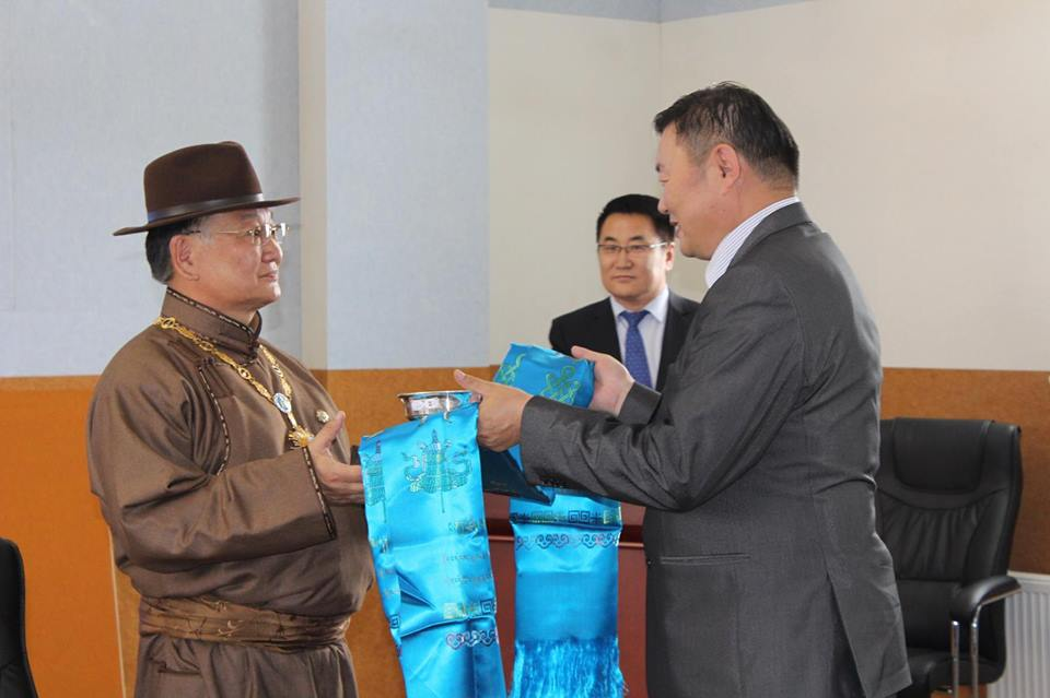 Lecture at the Mongolian Educational University